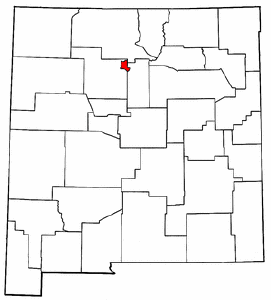 Image:Map of New Mexico highlighting Los Alamos County.png