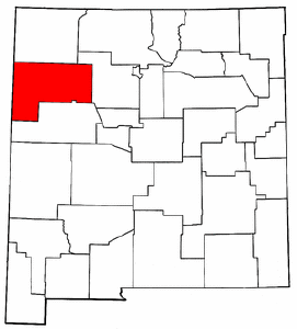 Image:Map of New Mexico highlighting McKinley County.png