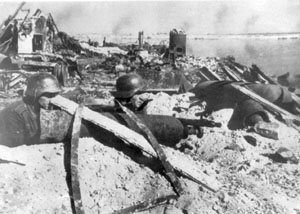 German troops at the Battle of Stalingrad