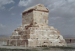 Tomb of  in Pasargad