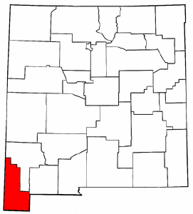 Image:Map of New Mexico highlighting Hidalgo County.png