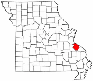 Image:Map of Missouri highlighting Ste. Genevieve County.png
