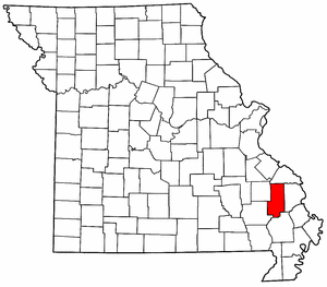 Image:Map of Missouri highlighting Bollinger County.png