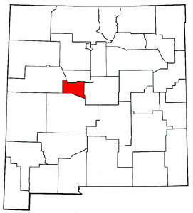 Image:Map of New Mexico highlighting Valencia County.png