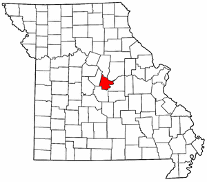 Image:Map of Missouri highlighting Cole County.png