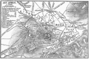 1888 German map of Athens