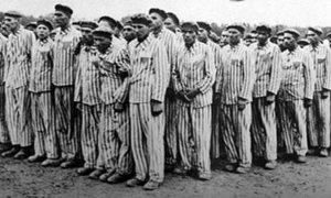 inmates during the Holocaust