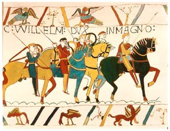 The , created in , depicts the Norman Conquest.