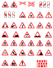 are one of the important types of traffic signs