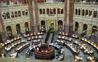 Library of Congress reading room