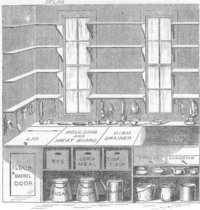 "Beecher's ""model kitchen"" brought early  principles to the home."