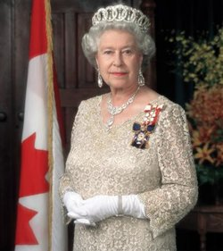 The present Queen of Canada is Elizabeth II.