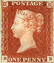 A likeness of Queen Victoria appears on the widely circulated   postage stamp.