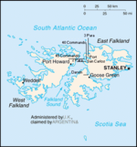 Context of landings in the Falklands