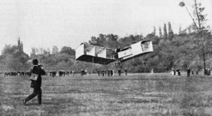 14 Bis, the first plane to take off by itself