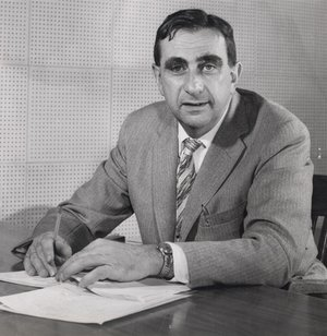 Edward Teller in 1958 as Director of .