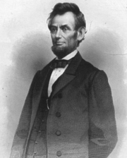 While Lincoln is usually portrayed bearded, he only grew a beard the last few years of his life, perhaps at the suggestion of 11-year-old Grace Bedell.