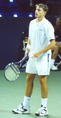 Roddick at the 2000 US Open