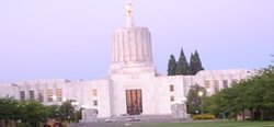 State Capitol building in Salem