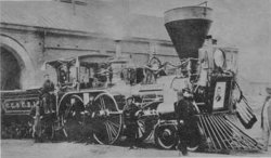 Lincoln's funeral train carried his remains, as well as 300 mourners and the casket of his son William, 1,654 miles to Illinois.